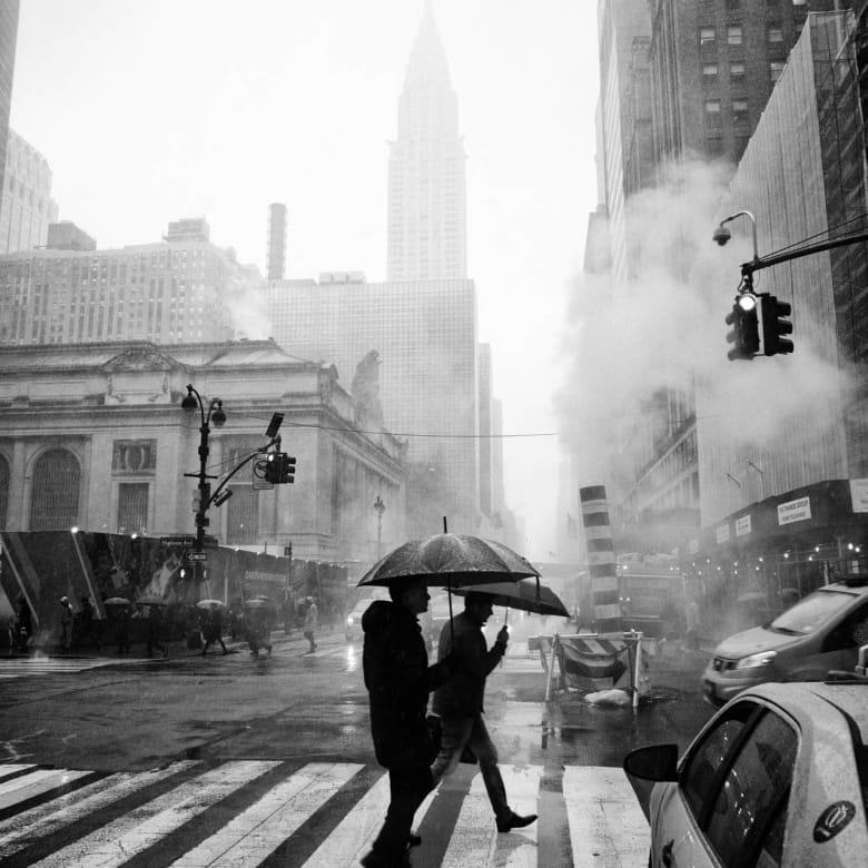 PHIL PENMAN, 42nd Street, New York, 2017