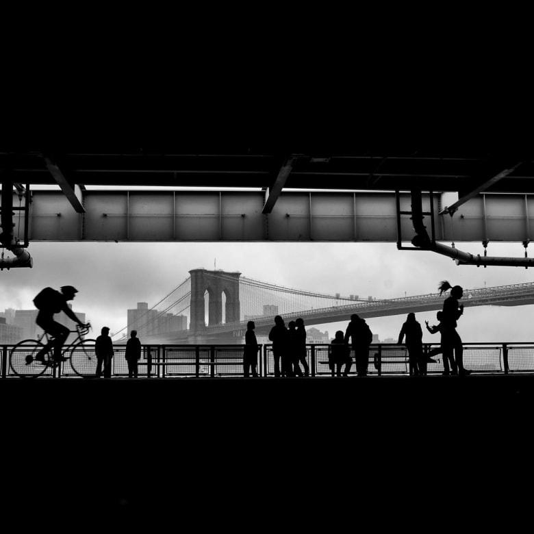 PHIL PENMAN, Under the FDR Drive, New York, 2014