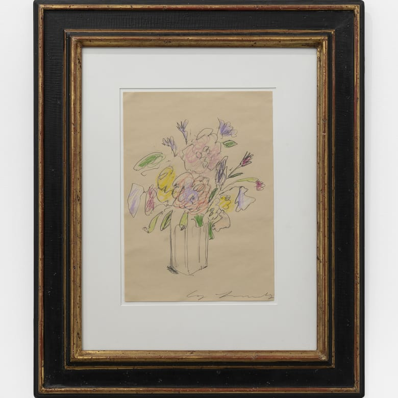 Cy Twombly, Untitled (Birthday Flowers), 1970