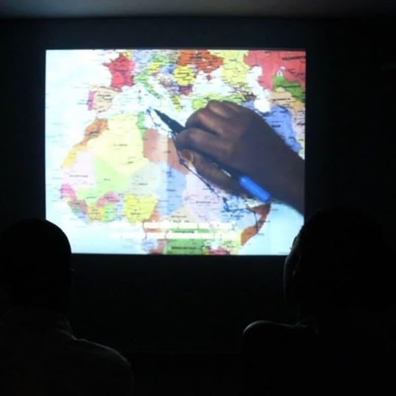 """Exposition """"Mécaniques des fluides"""" à la Galerie Cécile Fakhoury à Abidjan 2013"""