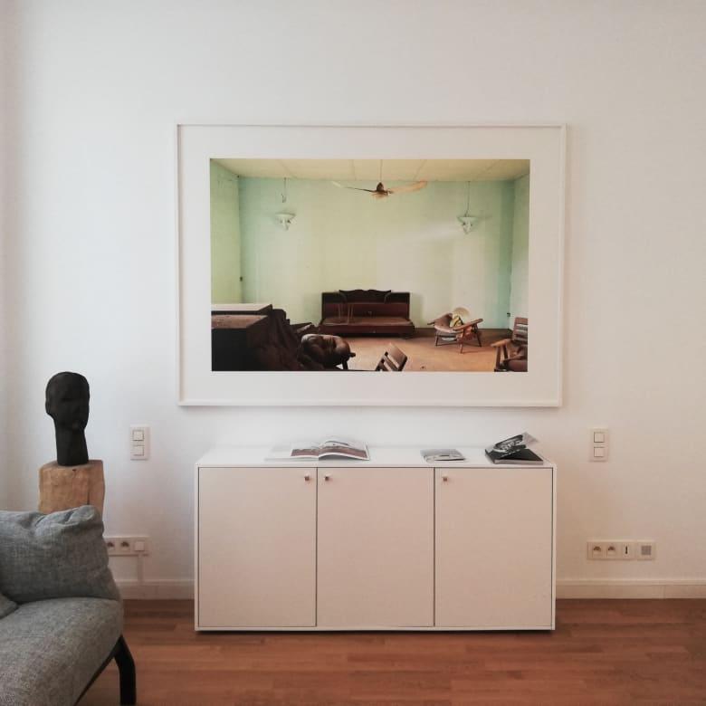 Vue du showroom de galerie à Paris, 2019