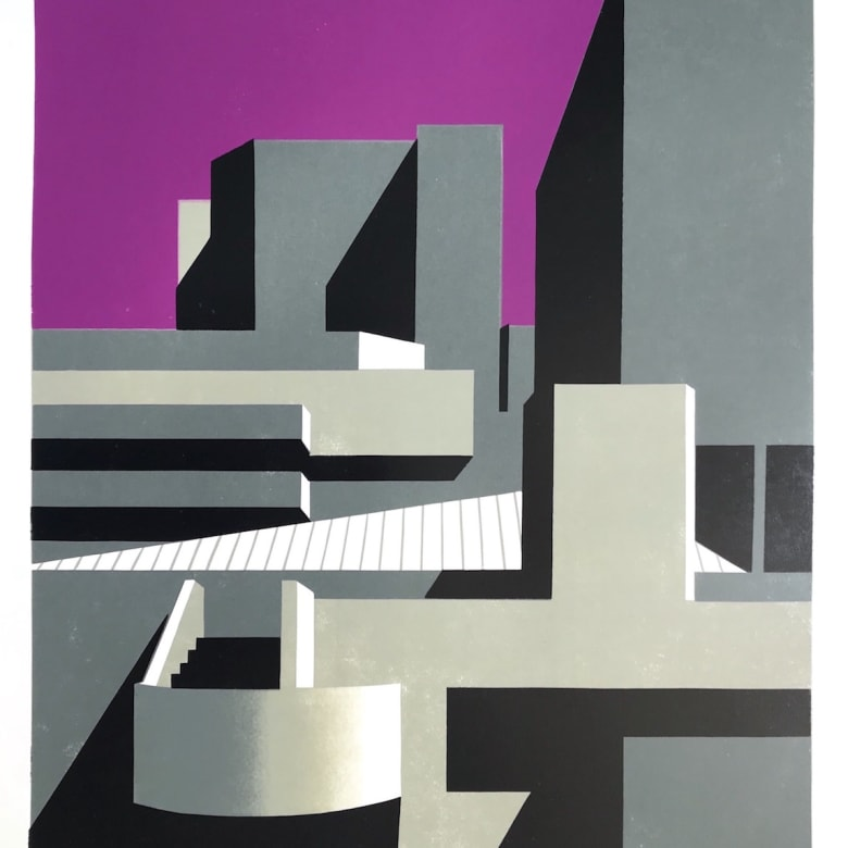 Paul Catherall Linocut Sale