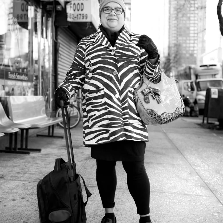 Lady on 10th Avenue