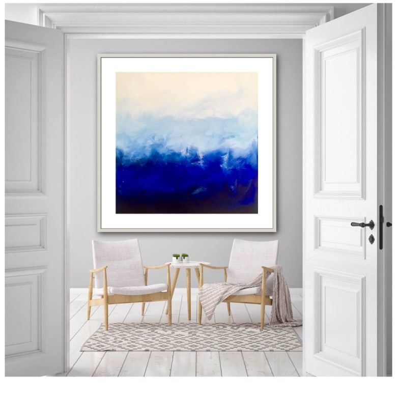 paintings, gallery and abstract art