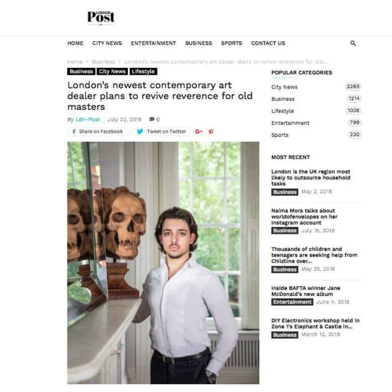 Mark Keshishian, London Post
