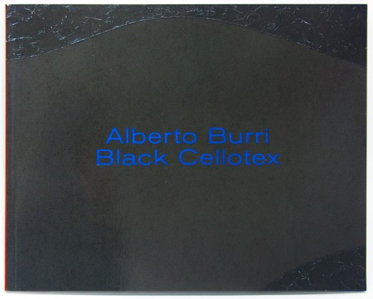 Alberto Burri Black Cellotex