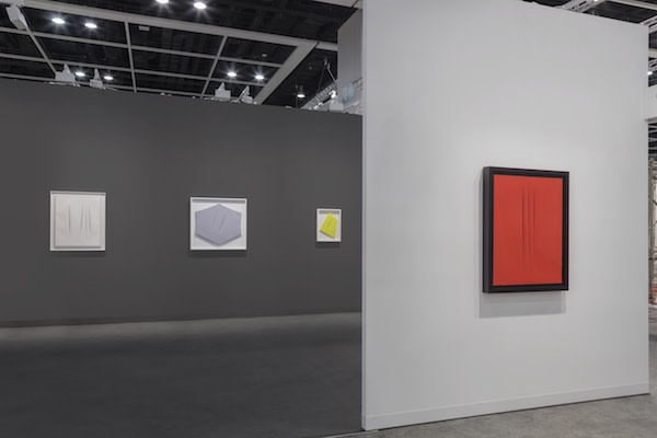 Installation view, Luxembourg & Dayan at Art Basel Hong Kong 2017  Photo: Sebastiano Pellion di Persano