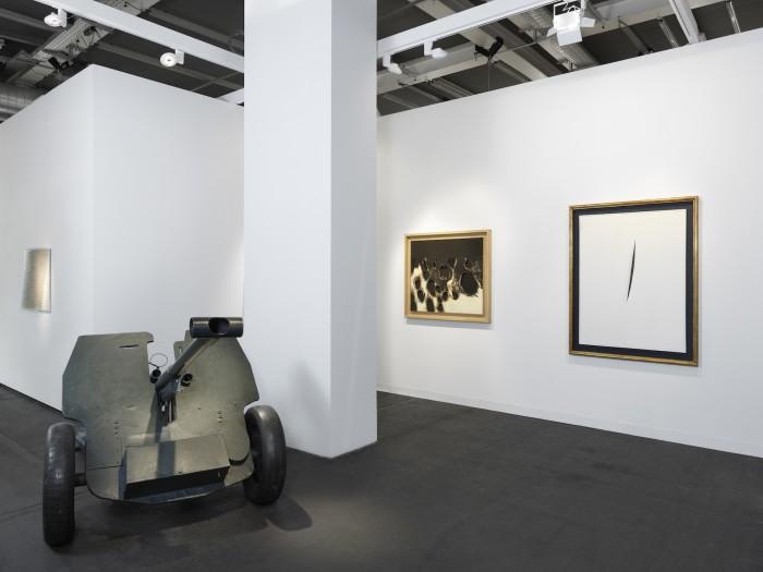 Installation view of Luxembourg & Dayan at Art Basel 2017. Photo: Annik Wetter