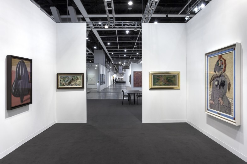 Installation view, Luxembourg & Dayan at Art Basel Hong Kong 2018  Photo: Sebastiano Pellion di Persano