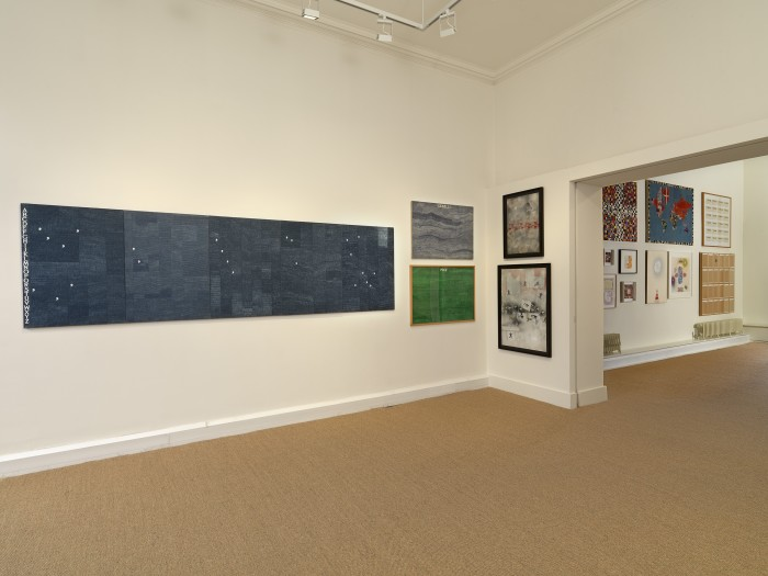 Installation view of Alighiero Boetti: A Private Collection