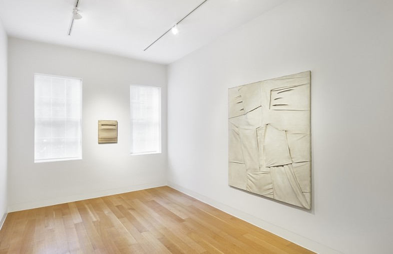 Installation view of Salvatore Scarpitta 1956 - 1964.