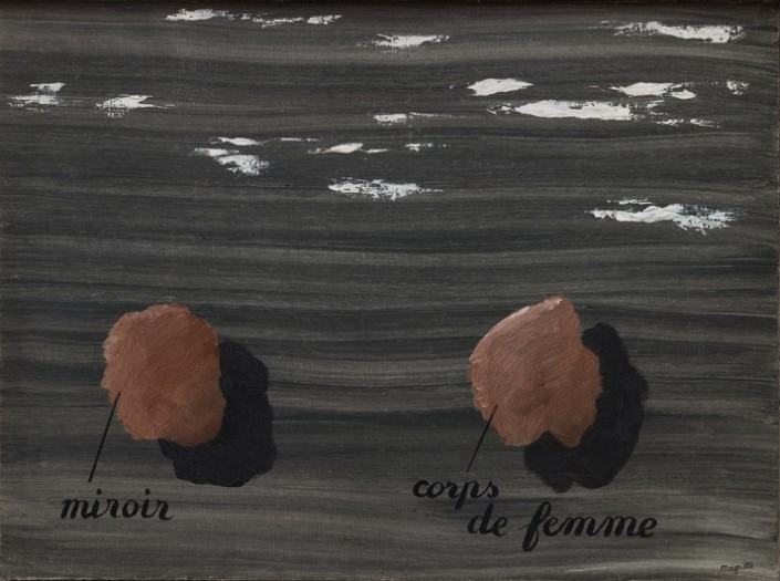 René Magritte, L'usage de la parole, 1928. Private Collection, Courtesy Luxembourg & Dayan © DACS, London and ADAGP, Paris, 2018