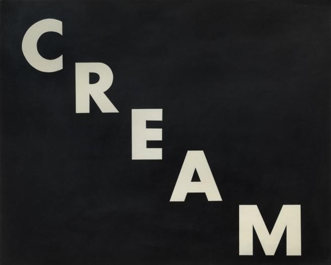 ED RUSCHA, Cream, 1974