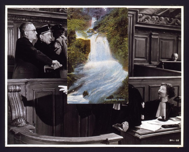 John Stezaker (b. 1949), The Trial, 1978. Tate Collection.