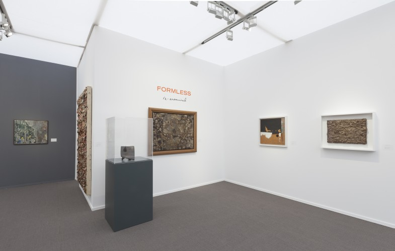Installation view of Luxembourg & Dayan, Booth D7 at Frieze Masters 2016.  Courtesy Luxembourg & Dayan, New York and London.