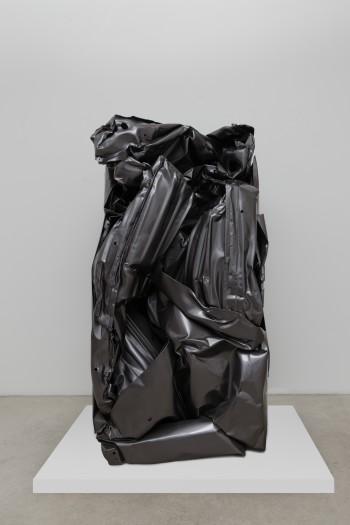 César, Black Storm 805, 1998.  © 2020 César / SBJ / Artists Rights Society (ARS), New York / ADAGP, Paris. Courtesy of Luxembourg & Dayan, New York and London.