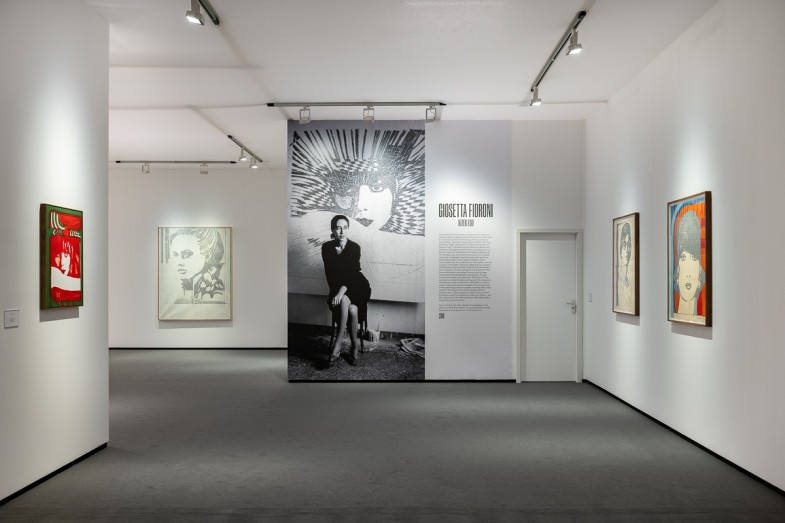Installation view of Luxembourg + Co., Stand D3 at Frieze Masters 2021. Courtesy Luxembourg + Co., London and New York. Photo: Damian Griffiths Photography.
