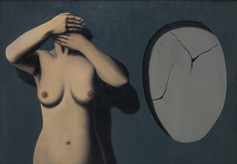 René Magritte, Le genre nocturne, 1928. Private Collection, Courtesy Luxembourg & Dayan © DACS, London and ADAGP, Paris, 2018