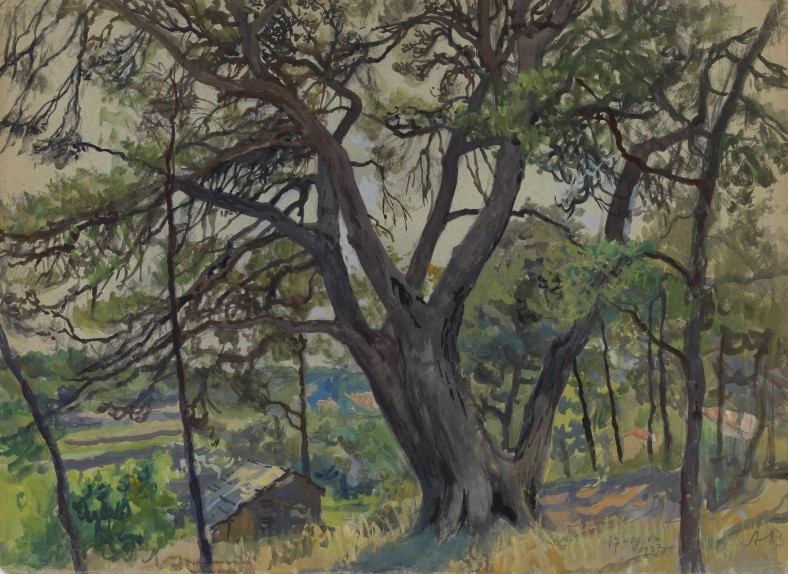 Alexandre Nikolayevich Benois, Woods in Cassis, 1932