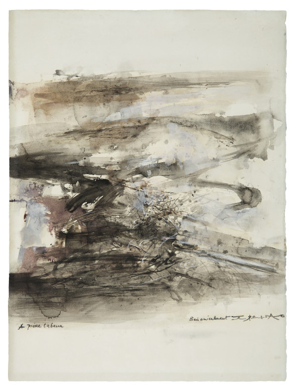 Zao Wou-Ki, Untitled , Circa 1965