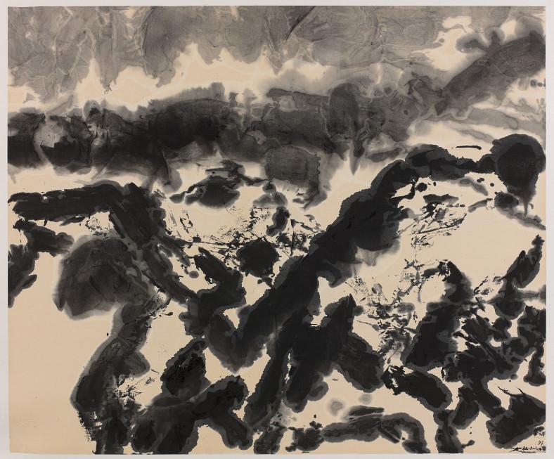 Zao Wou-Ki, Untitled, 1997