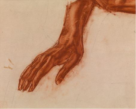 Alexander Iacovleff, Hand, 1925