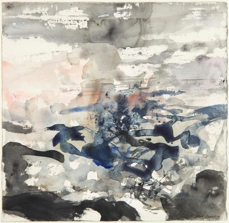 Zao Wou-Ki, Composition, 1976