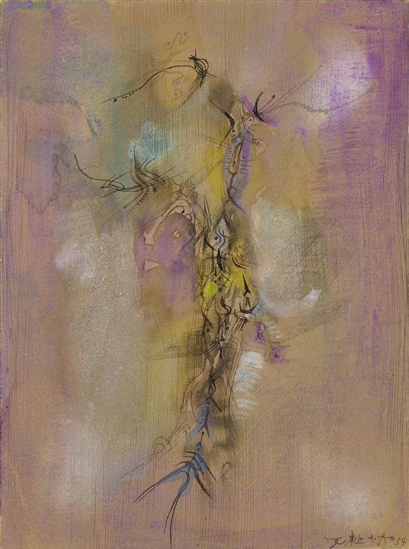 Zao Wou-Ki, Untitled, 1954