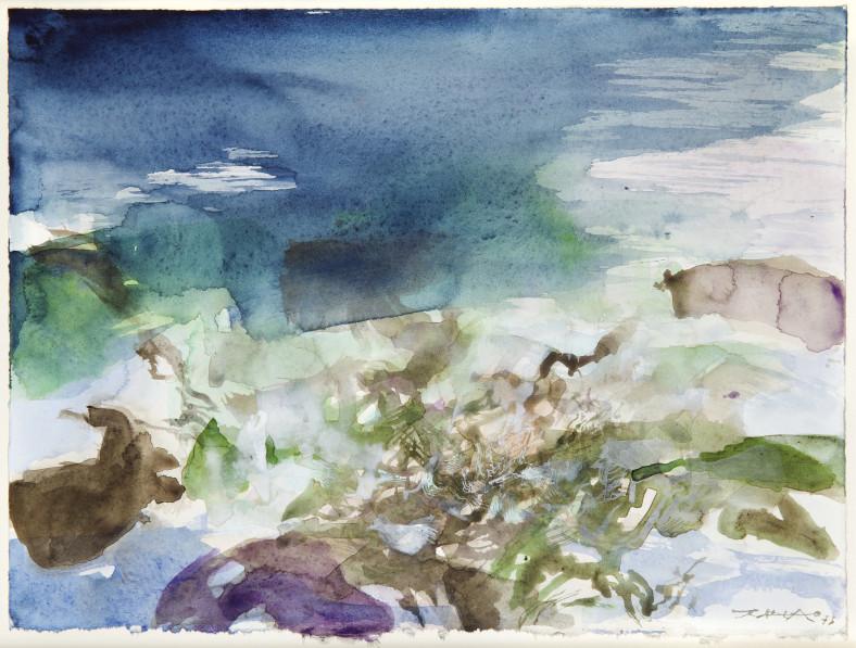 Zao Wou-Ki, Untitled, 1973