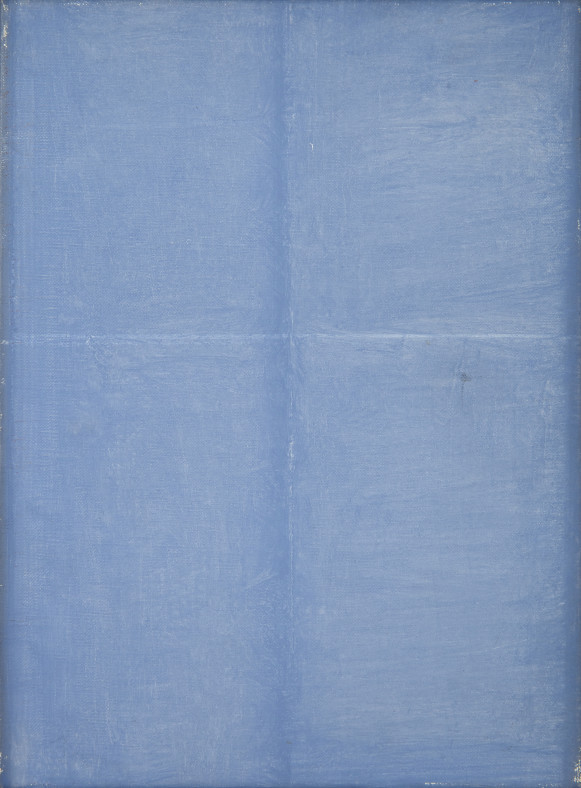 Genevieve Asse, Transparence Bleue , 1992