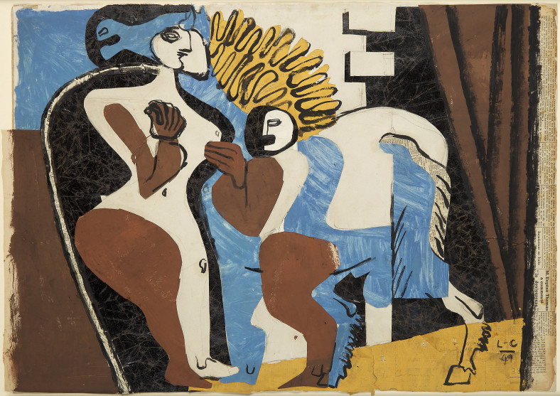 Le Corbusier, Circus , 1949
