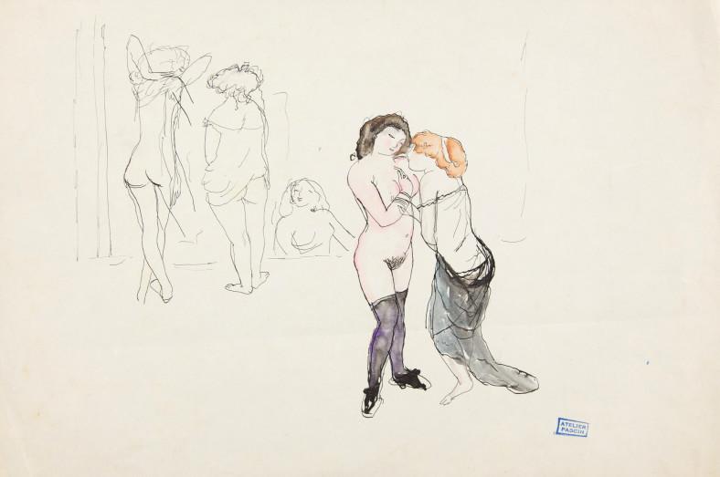 Jules Pascin, Secrets, 1912
