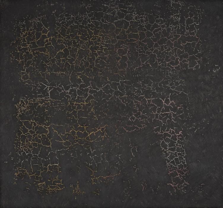 Art & Language Not that is needed now, 2016 óleo e tecnica mista sobre tela 60,5 x 60,5 cm