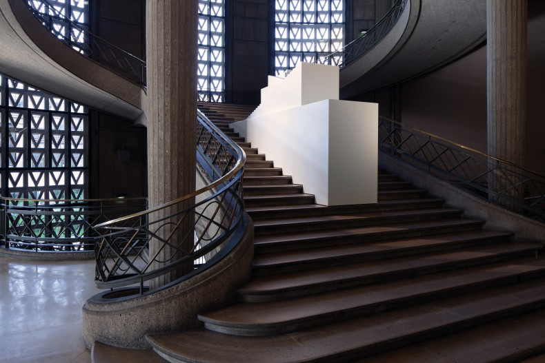 Porticus, vista da exposição -- Palais d'Iéna, Paris, 2017