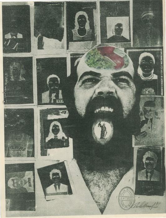Paulo Bruscky Da série: Pelos Nossos Desaparecidos, 1977