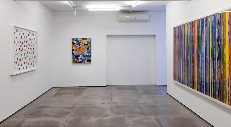 vista da exposição -- galeria nara roesler | rio de janeiro, 2017 -- foto Pat Kilgore © cortesia do artista e Galeria Nara Roesler