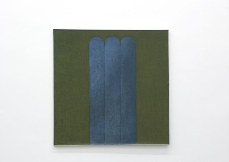 Sem Título, 1979 óleo sobre tela 150 x 150 cm
