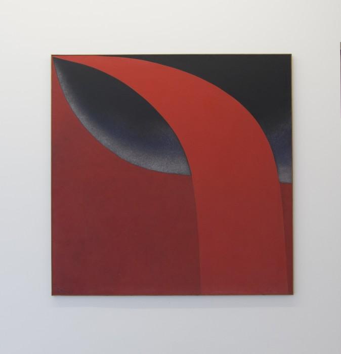 Sem Título, 1986 óleo sobre tela 150 x 150 cm