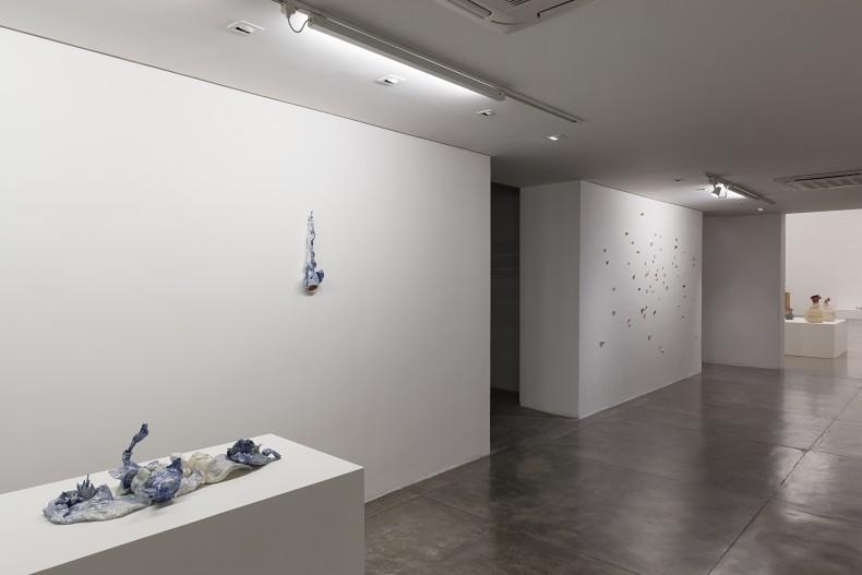 Brígida Baltar A Carne do Mar vista da exposição -- Galeria Nara Roesler   São Paulo, 2018