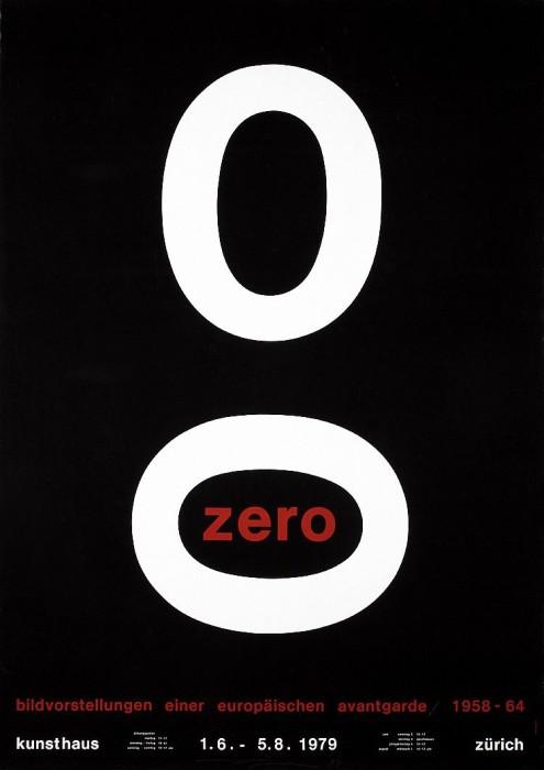 Almir Mavignier Kunsthaus Zürich Zero, 1979