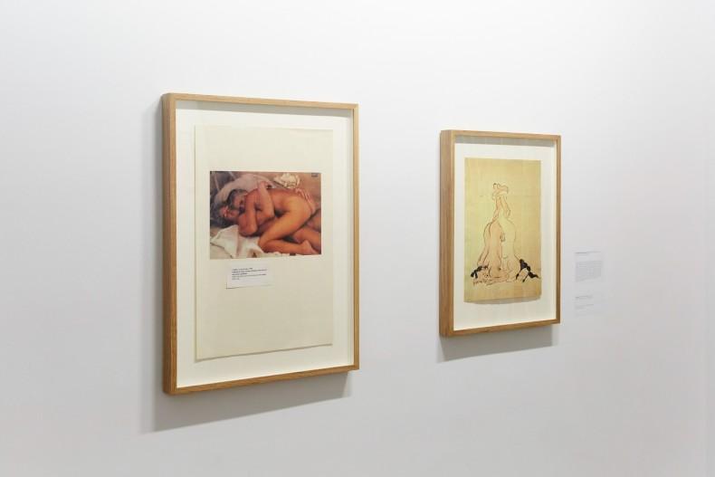 vista da exposição -- león ferrari, for a world with no Hell -- galeria nara roesler | new york, 2018