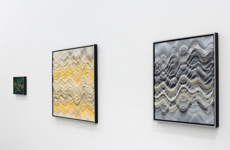 vista da exposição -- abraham palatnik: em movimento -- galeria nara roesler | rio de janeiro, 2018