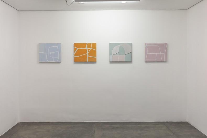 vista da exposição -- fabio miguez: fragmentos do real -- galeria nara roesler   são paulo, 2018