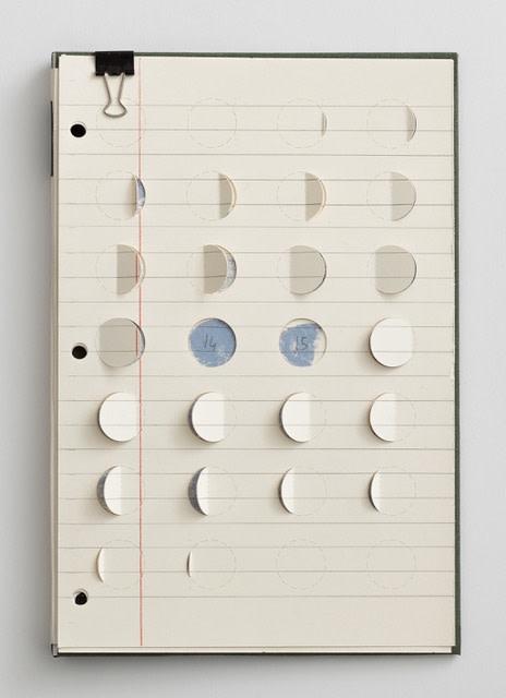 sem título, 2018 técnica mista sobre papel 22,9 x 15,2 cm