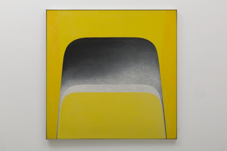 Tomie Ohtake Sem título, 1976 óleo sobre tela 100 x 100 cm