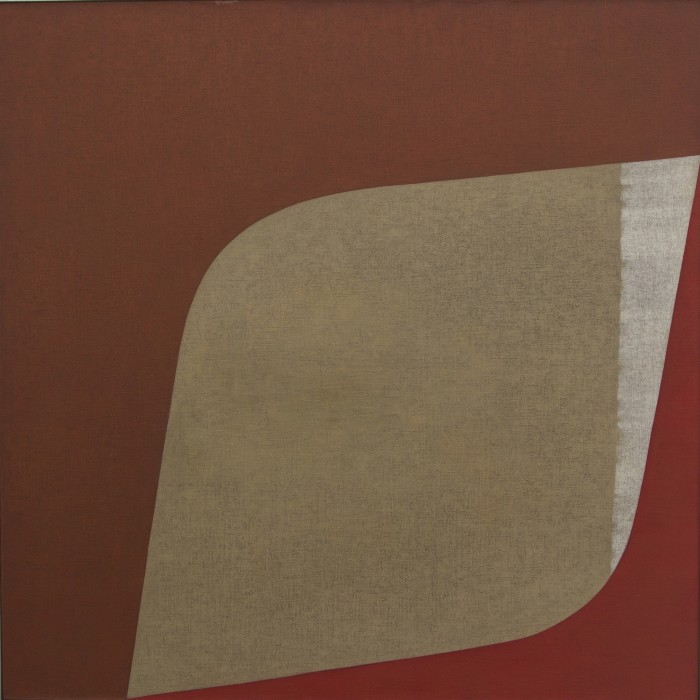 Tomie Ohtake Sem título, 1979 óleo sobre tela 100 x 100 cm