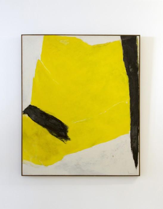 Tomie Ohtake Sem título, 1965 óleo sobre tela 120 x 100 cm