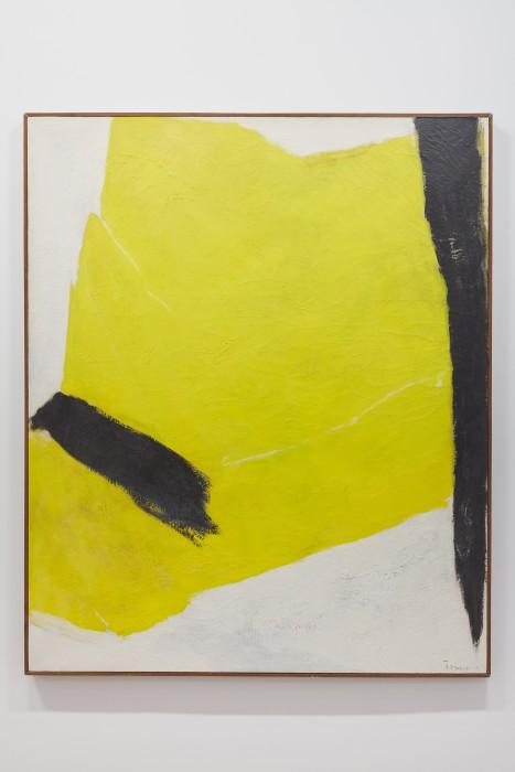 tomie ohtake: at her fingertips -- vista da exposição -- galeria nara roesler | new york 2018 -- foto © Pierce Harrison, cortesia do artista e galeria nara roesler