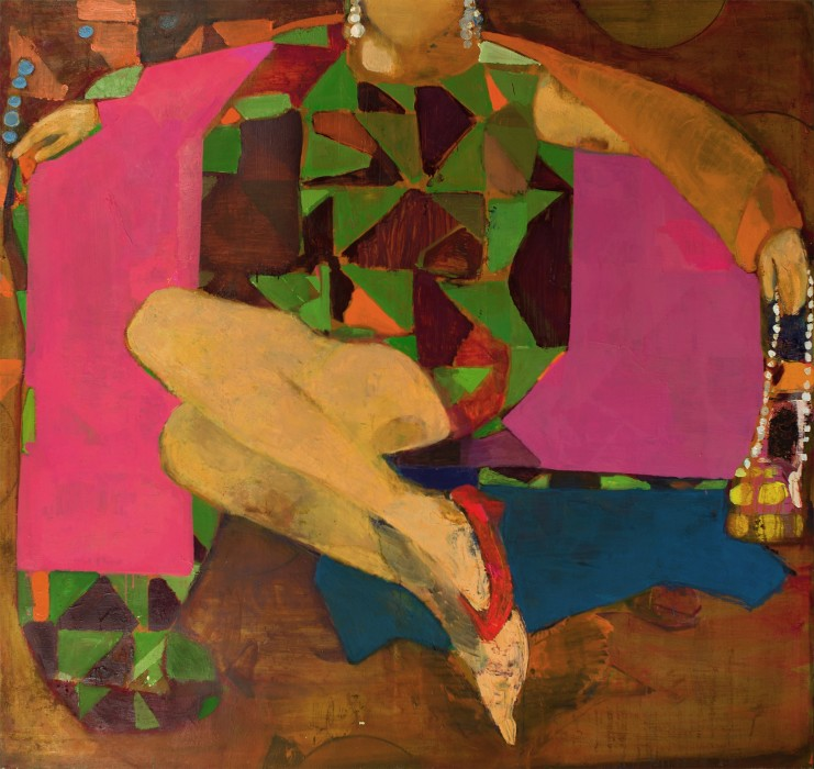 Cristina Canale Ella, 2018 técnica mista sobre tela 170 x 180 cm