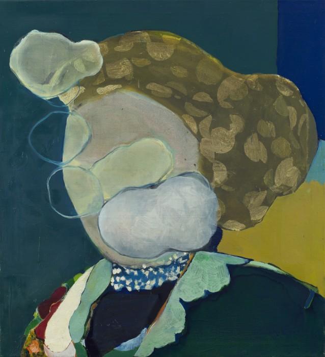 Cristina Canale Nuvens, 2017 técnica mista sobre tela 100 x 90 x 5 cm